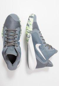 Nike Performance - PRECISION III - Basketbalové boty - cool grey/dark grey/platinum tint/lab green - 1