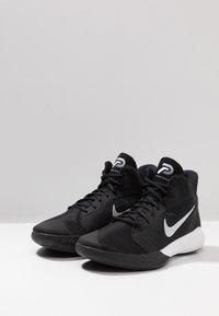Nike Performance - PRECISION III - Basketball shoes - black/white - 2
