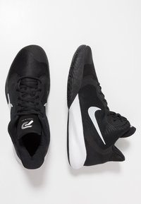 Nike Performance - PRECISION III - Basketball shoes - black/white - 1