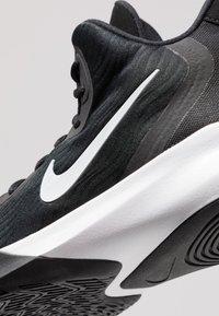 Nike Performance - PRECISION III - Basketball shoes - black/white - 5