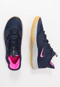 Nike Performance - PG 3 - Zapatillas de baloncesto - obsidian/pink blast/wolf grey - 1