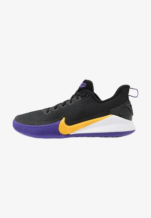 MAMBA FOCUS - Indoorskor - black/amarillo/field purple/white