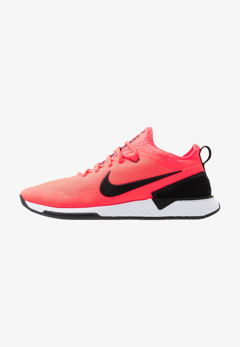 Nike Performance - FC - Fußballschuh Halle - solar red/black/white/light brown