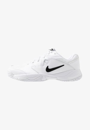 LITE - All court tennisskor - white/black