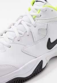 Nike Performance - COURT LITE 2 - Multicourt tennis shoes - white/black/volt - 5