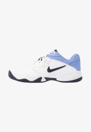 COURT LITE 2 - Tennisschoenen voor alle ondergronden - white/obsidian/royal pulse