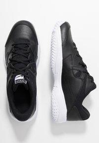 Nike Performance - LITE 2 - Allcourt tennissko - black/white - 1