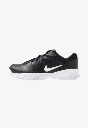 LITE - Tenisové boty na všechny povrchy - black/white