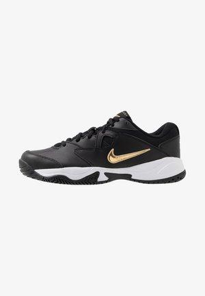 COURT LITE 2 - All court tennisskor - black/metallic gold/white
