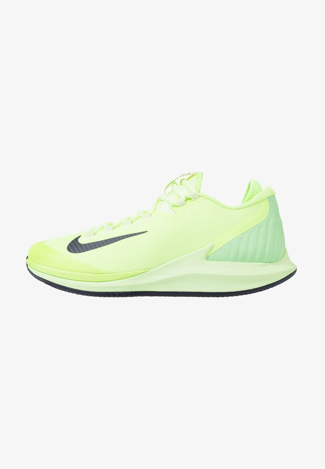AIR ZOOM CLAY - Clay court tennis shoes - ghost green/blackened blue/barely volt
