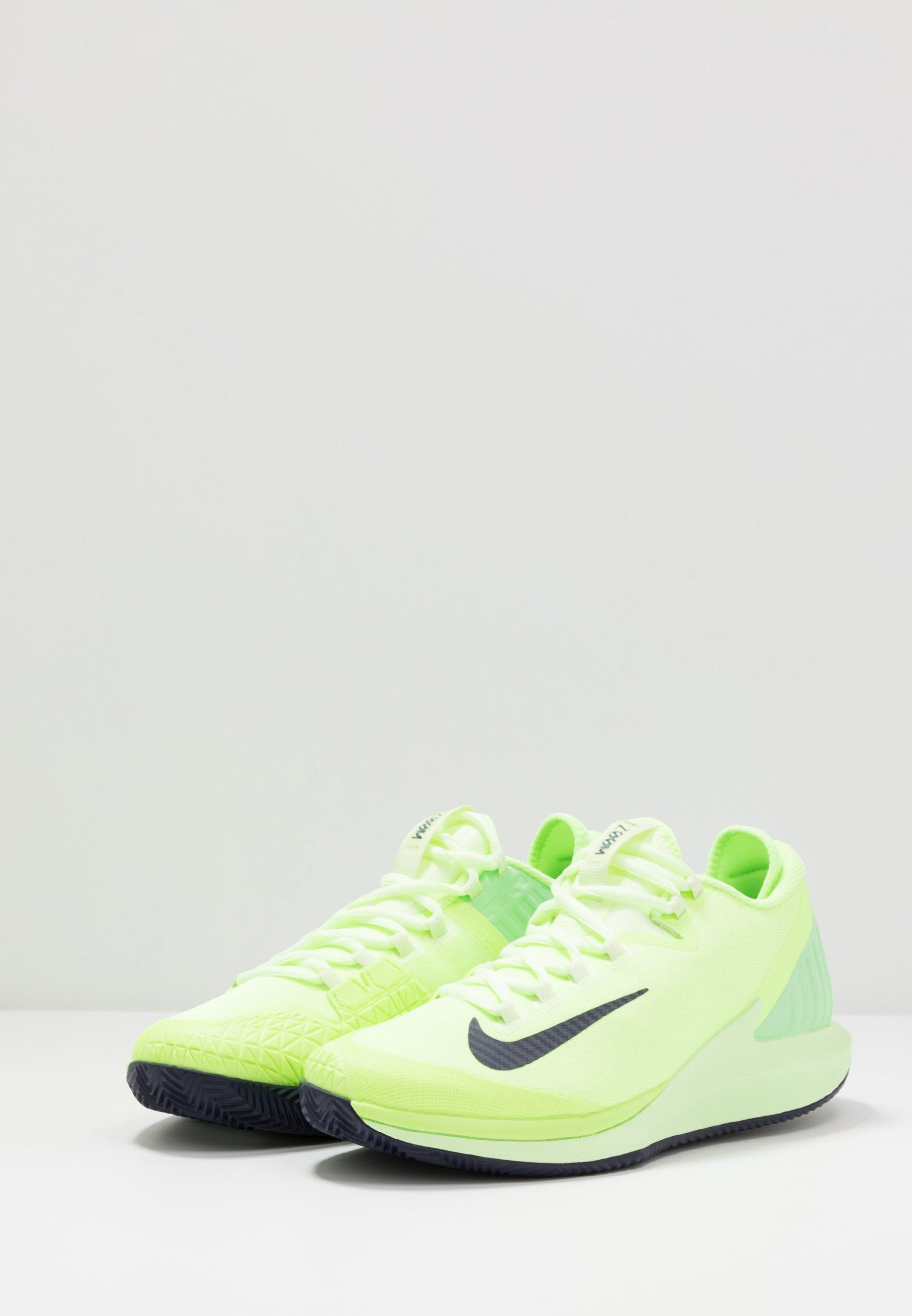 Nike Performance Air Zoom Clay - Da Tennis Per Terra Battuta Ghost Green/blackened Blue/barely Volt Scarpe Scontate