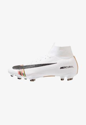PRO FG - Chaussures de foot à crampons - pure platinum/black/white