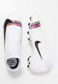 Nike Performance - ACADEMY FG/MG - Kopačky lisovky - white/black/pure platinum - 1
