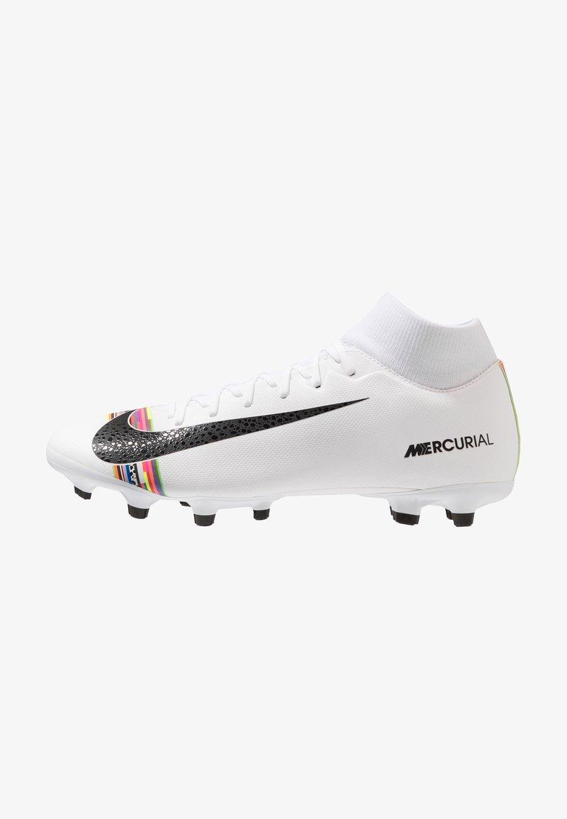 Nike Performance - ACADEMY FG/MG - Kopačky lisovky - white/black/pure platinum