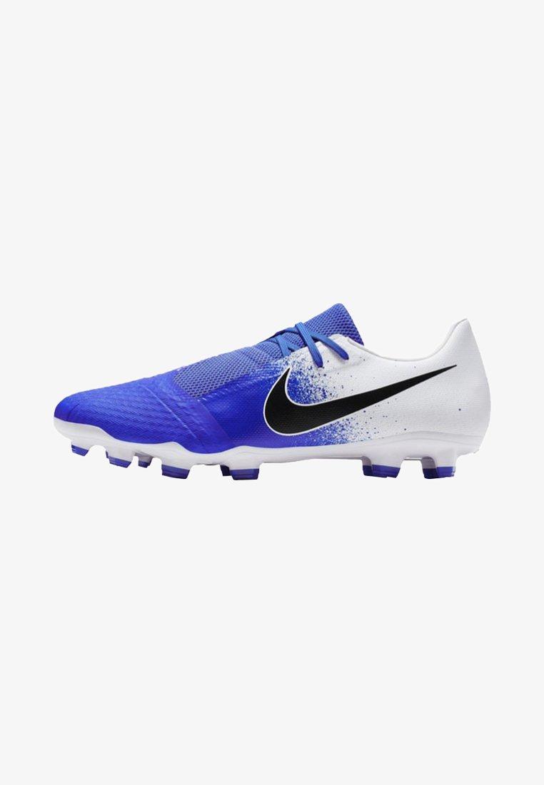 Nike Performance - PHANTOM ACADEMY - Fußballschuh Nocken - white/blue/black