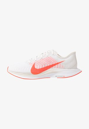 ZOOM PEGASUS TURBO 2 - Zapatillas de running neutras - platinum tint/laser crimson/white/light smoke grey