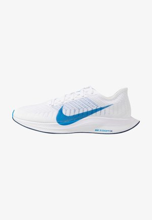 ZOOM PEGASUS TURBO 2 - Zapatillas de running neutras - white/photo blue/blue void/football grey