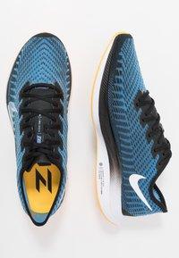Nike Performance - ZOOM PEGASUS TURBO 2 - Neutral running shoes - black/white/university blue/laser orange - 1