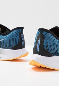 Nike Performance - ZOOM PEGASUS TURBO 2 - Neutral running shoes - black/white/university blue/laser orange - 5