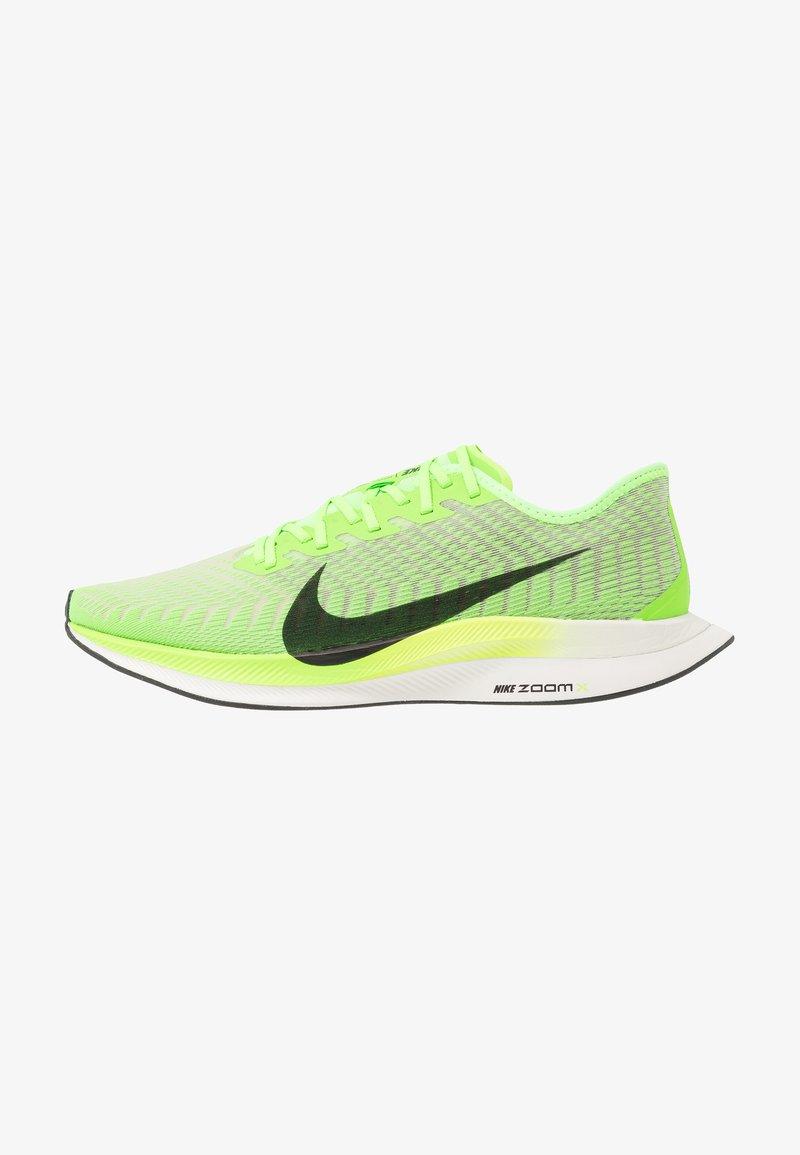 Nike Performance - ZOOM PEGASUS TURBO 2 - Konkurrence løbesko - electric green/black/bio beige/phantom