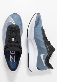 Nike Performance - ZOOM FLY 3 - Neutrala löparskor - coastal blue/metallic silver/black/white - 1