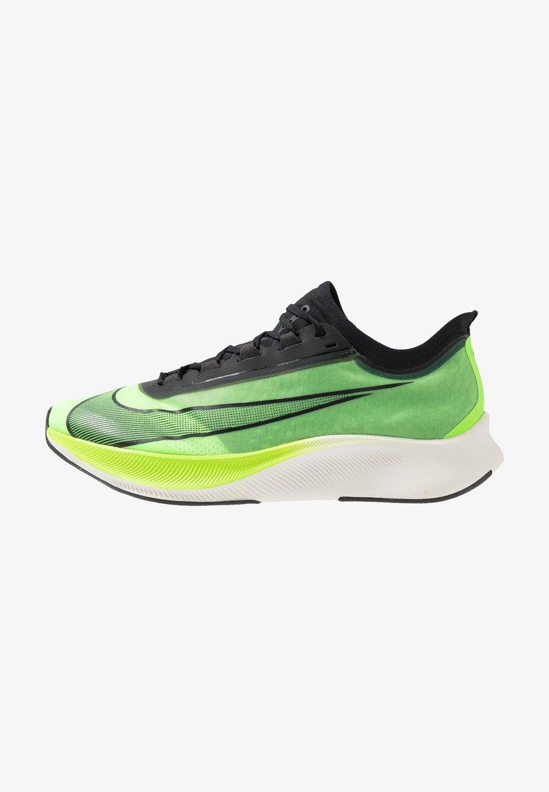 Nike Performance - ZOOM FLY 3 - Neutrala löparskor - electric green/black/vapor green/phantom