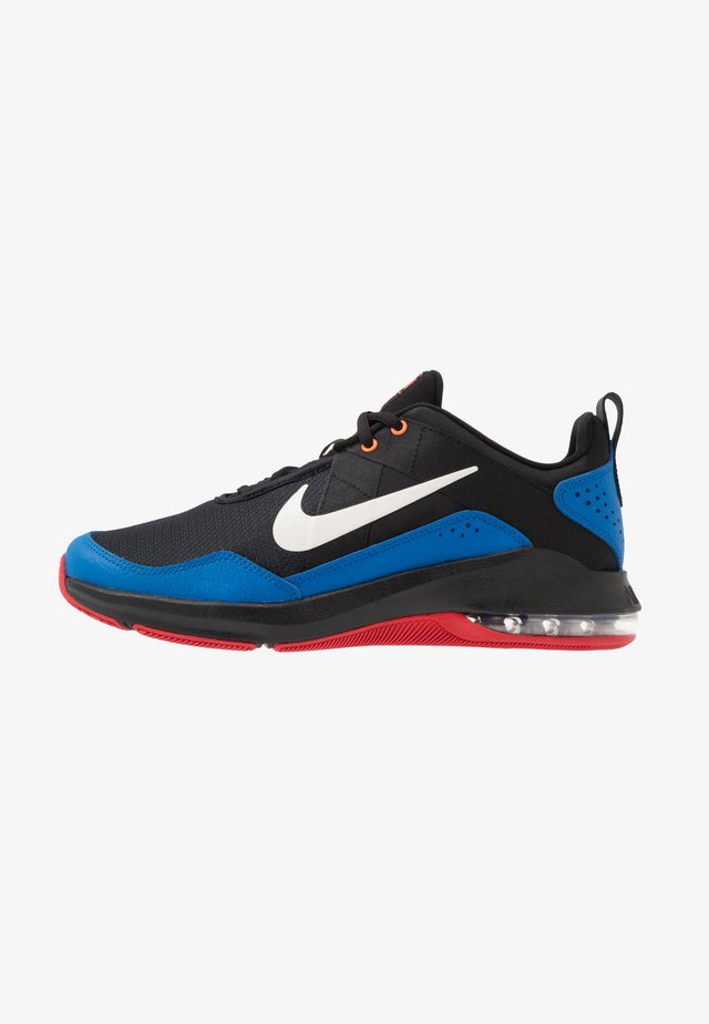 AIR MAX ALPHA TRAINER 2 - Sports shoes - black/pale ivory/soar/total orange/university red