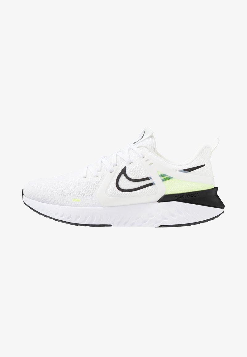 Nike Performance - LEGEND REACT 2 - Laufschuh Neutral - white/black/electric green/vapor green/phantom