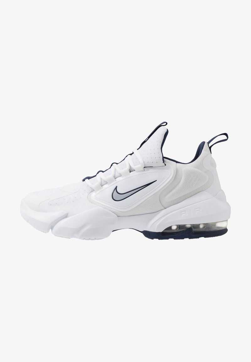 Nike Performance - AIR MAX ALPHA SAVAGE - Trainings-/Fitnessschuh - white/wolf grey/midnight navy