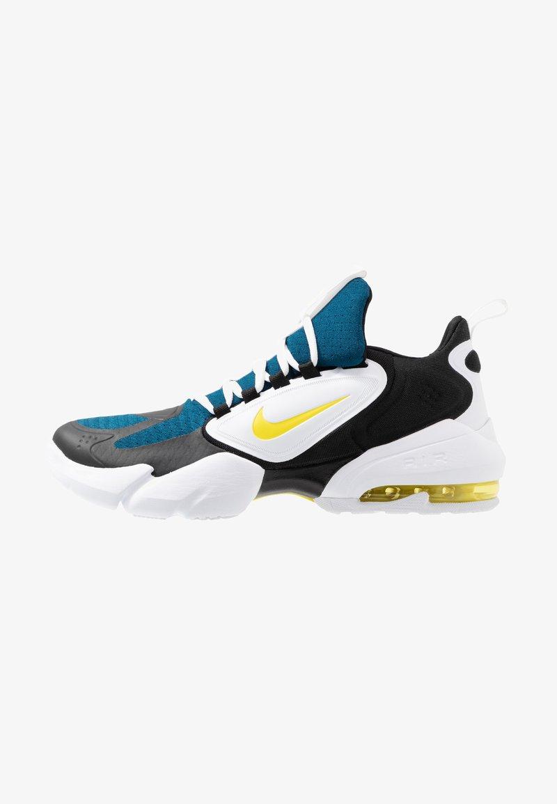 Nike Performance - AIR MAX ALPHA SAVAGE - Treningssko - blue force/dynamic yellow/white/black