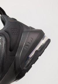 Nike Performance - AIR MAX ALPHA SAVAGE - Sports shoes - black/white - 5