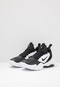 Nike Performance - AIR MAX ALPHA SAVAGE - Obuwie treningowe - black/white - 2