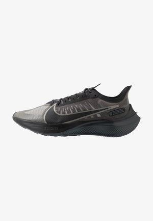 NIKE ZOOM GRAVITY - Neutral running shoes - black/anthracite/metallic pewter/cool grey