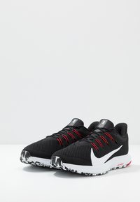 Nike Performance - QUEST 2 - Neutrala löparskor - black/white/anthracite/university red - 2
