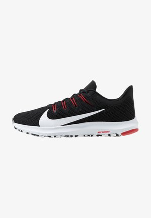 QUEST 2 - Scarpe running neutre - black/white/anthracite/university red