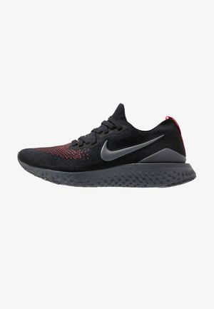 EPIC REACT FK 2 - Neutrala löparskor - black/dark grey/flash crimson