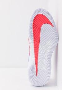 Nike Performance - AIR ZOOM VAPOR X - Multicourt tennis shoes - white/game royal/flash crimson - 4