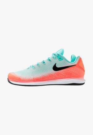AIR ZOOM VAPOR X - Multicourt tennis shoes - aurora green/black/hyper crimson
