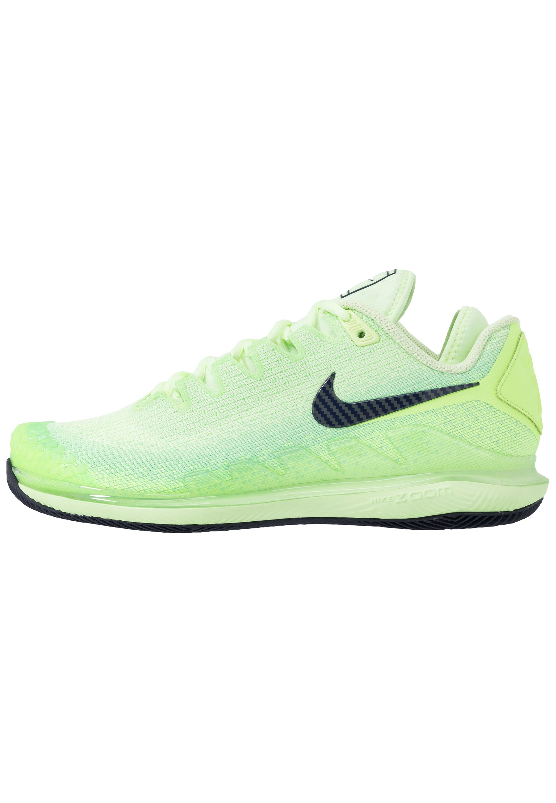 AIR ZOOM VAPOR X Chaussures de tennis toutes surfaces ghost greenblackened bluebarely volt