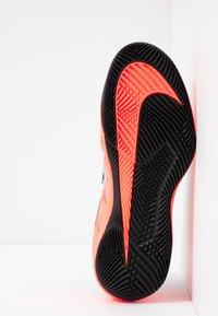 Nike Performance - AIR ZOOM VAPOR X - Multicourt tennis shoes - black/white/dark grey/hot lava/wolf grey - 4