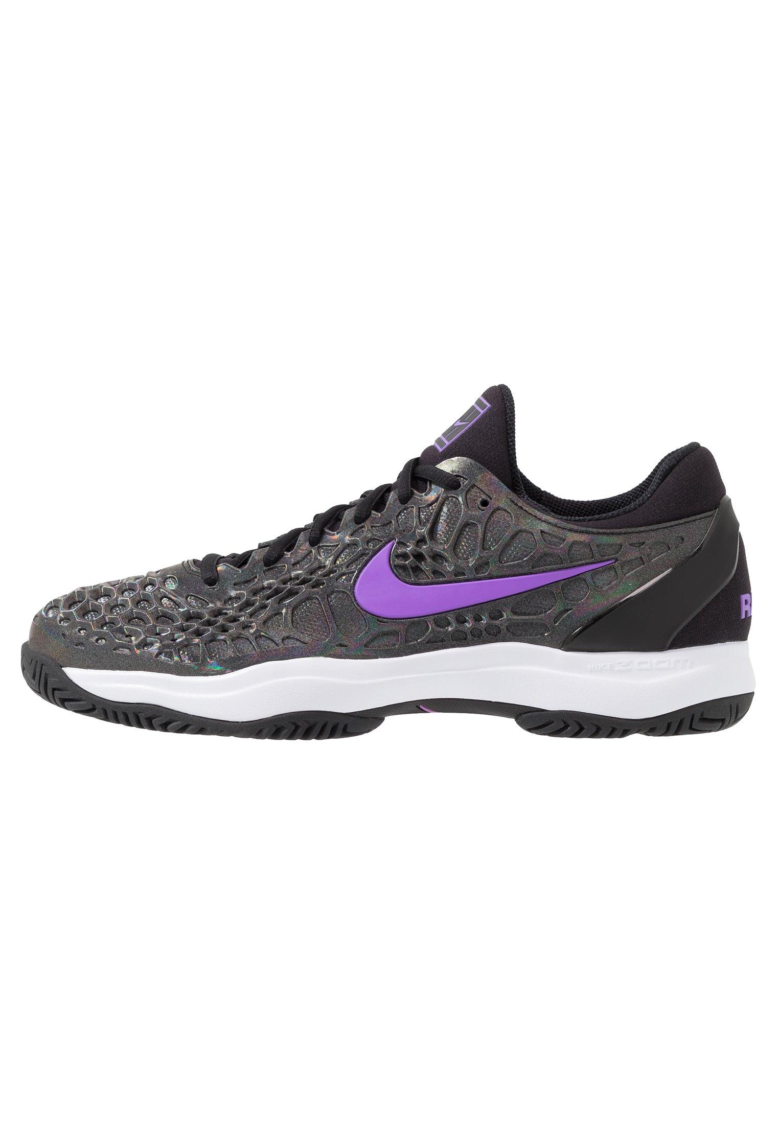ZOOM CAGE 3 HC SLK Chaussures de tennis toutes surfaces blackbright violetmulticolor