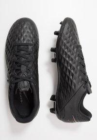 Nike Performance - TIEMPO LEGEND 8 ACADEMY MG - Fußballschuh Nocken - black - 1