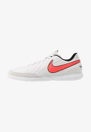 TIEMPO LEGEND 8 ACADEMY IC - Indoor football boots - tint/bright crimson/white/black
