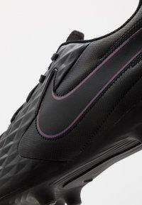 Nike Performance - TIEMPO LEGEND 8 CLUB FG/MG - Voetbalschoenen met kunststof noppen - black - 5
