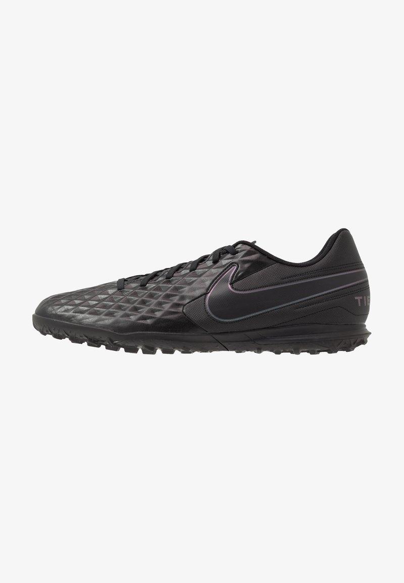 Nike Performance - TIEMPO LEGEND 8 CLUB TF - Kopačky na umělý trávník - black