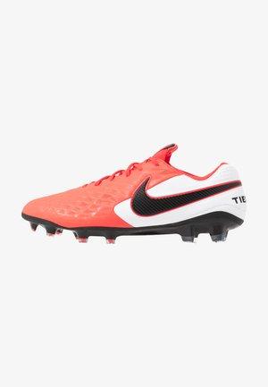 TIEMPO LEGEND 8 ELITE FG - Chaussures de foot à crampons - laser crimson/black/white