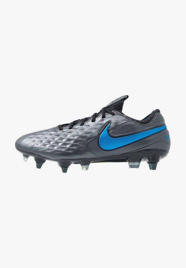 TIEMPO LEGEND 8 ELITE SG-PRO AC - Voetbalschoenen met metalen noppen - black/blue hero