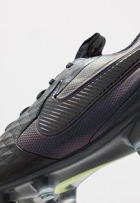 Nike Performance - TIEMPO LEGEND 8 ELITE SG-PRO AC - Fotbolsskor skruvdobbar - black/white/volt - 5