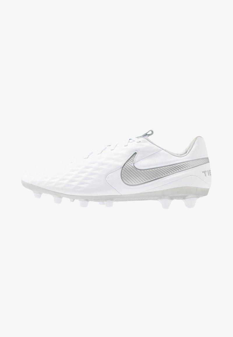 Nike Performance - LEGEND 8 PRO AG - Fußballschuh Nocken - white/chrome/metallic silver/pure platinum