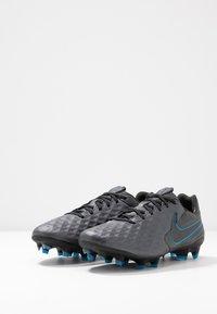 Nike Performance - TIEMPO LEGEND 8 PRO FG - Tekonurmikengät - black/blue hero - 2